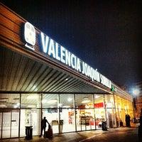 Photo taken at Estació de Valencia Joaquín Sorolla - AVE by Cristian P. on 3/15/2012