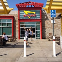Photo taken at In-N-Out Burger by s t e f v. on 7/9/2012