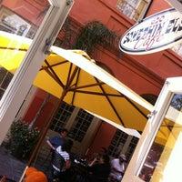 Photo taken at Somethin' Else Café by Richard W. on 4/29/2012