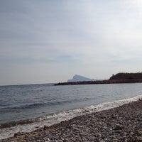 Photo taken at Playa de Mascarat Sur / La Barreta by P M. on 3/30/2012