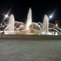 Photo taken at Logan Square by Hakim G. on 7/8/2012