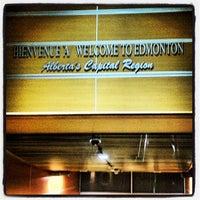 Photo taken at Edmonton International Airport (YEG) by Jason P. on 2/23/2012