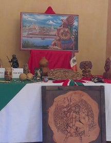 Exposicion Mexico a traves de sus Simbolos patrios