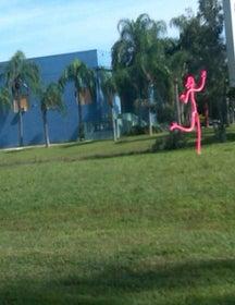 Pink Stick Figure