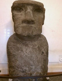 Easter Island Stone Figure - Smithsonian's National Museum of Natural History