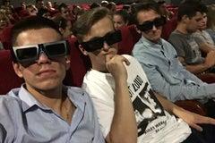 Салют в Несвиже - Кинотеатр