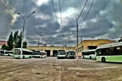 Троллейбусный парк №4 г. Минск - Троллейбусный парк