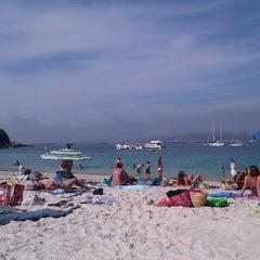 Photo taken at Praia de Castiñeiras by Luis S. on 8/8/2012