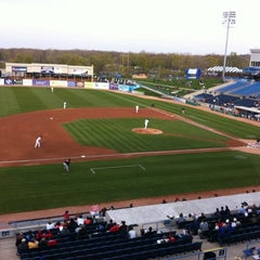 Photo taken at Fifth Third Ballpark by Bethany W. on 4/13/2012