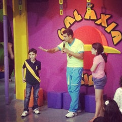 Photo taken at Galaxia Kids by Mario V. on 8/18/2012