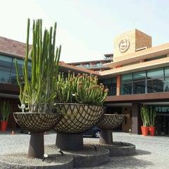 Photo taken at Sheraton Salobre Golf Resort & Spa by Iñaki M. on 7/24/2012