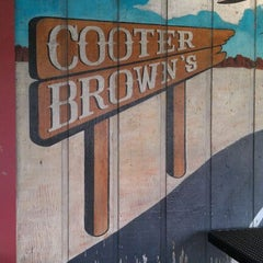 Photo taken at Cooter Brown's Tavern & Oyster Bar by Debbie L. on 5/3/2012