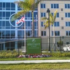 Photo taken at Element Miami International Airport by Joe E. on 3/29/2012