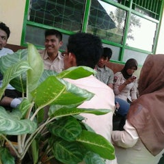 Photo taken at SMP Islam Sultan Agung 1 by Muhammad R. on 3/31/2012