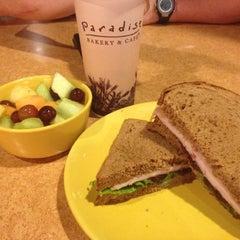 Photo taken at Paradise Bakery & Café by Shelli T. on 3/2/2012