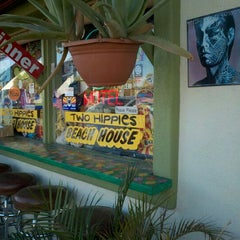 Photo taken at Two Hippies Beach House by Jacque B. on 2/4/2012