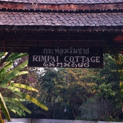 Photo taken at Rim Pai Cottage by Atipati S. on 2/18/2012