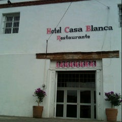 Photo taken at Hotel Casa Blanca by Plosh L. on 5/13/2012