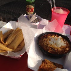 Photo taken at Fat Mama's Tamales by Lindsay on 6/21/2012