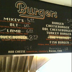 Photo taken at Mikey's Burger by David G. on 4/5/2012