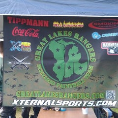 Photo taken at Hell Survivors Paintball Playfield by Matt S. on 5/5/2012