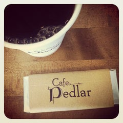 Photo taken at Cafe Pedlar by Book Report on 6/7/2012