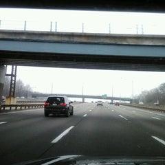 Photo taken at Garden State Parkway -- Saddlebrook by Dwight B. on 3/16/2012