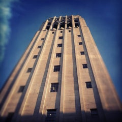 Photo taken at Burton Memorial Tower by Lindsey on 8/14/2012