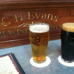 Photo taken at C.H. Evans Brewing Co. at the Albany Pump Station by Lizzy on 7/7/2012
