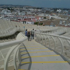 Photo taken at Metropol Parasol by Auxi G. on 7/27/2012