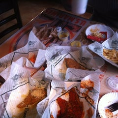 Photo taken at Wingstop by Alan C. on 6/21/2012