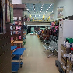 Photo taken at Fajar Agung Book Store by Arum S. on 7/6/2012