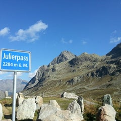 Photo taken at Julierpass by Markus S. on 9/6/2012