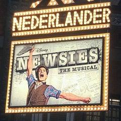 Photo taken at Nederlander Theatre by Trevor K. on 4/15/2012