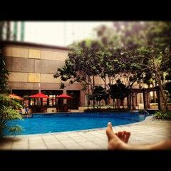 Photo taken at Pool · The Westin Kuala Lumpur 吉隆坡威斯汀酒店 by William Lye Wei Wern on 8/12/2012
