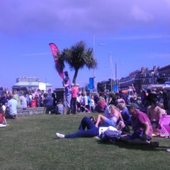 Photo taken at Weymouth Town Centre by Steve D. on 8/5/2012