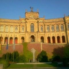 Photo taken at Bayerischer Landtag by Vladislav B. on 8/22/2012