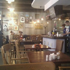 Photo taken at Магазин и большое кафе студии Артемия Лебедева by Sergey A. on 7/8/2012