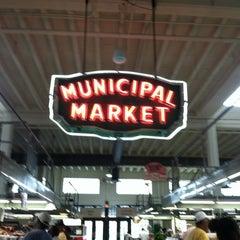 Photo taken at Sweet Auburn Curb Market by Samira B. on 7/21/2012