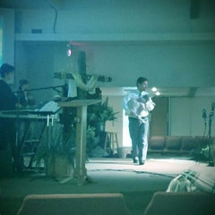 Photo taken at Flagnaz Community Church by Daniel B. on 4/8/2012