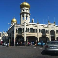 Photo taken at Grey Street Mosque by Sukru k. on 9/11/2012
