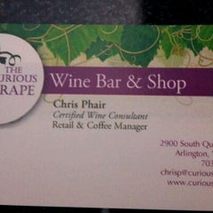 Photo taken at The Curious Grape by Todd H. on 3/31/2012