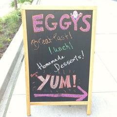 Photo taken at Eggy's by @steveGOgreen on 8/31/2012