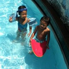 Photo taken at 33 Pham Ngu Lao Swimming Pool by Jolie L. on 7/22/2012