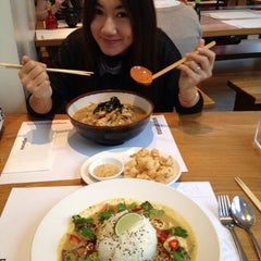 Photo taken at Wagamama by Aday on 4/30/2012