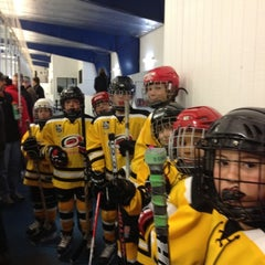 Photo taken at Raleigh Center Ice by Lisa S. on 2/18/2012