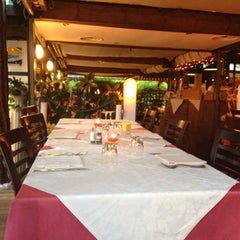 Photo taken at Ristorante Cavaliere Nero by Liana K. on 7/14/2012