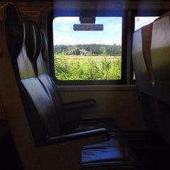 Photo taken at MTA - LIRR Train by Ashley S. on 9/2/2012