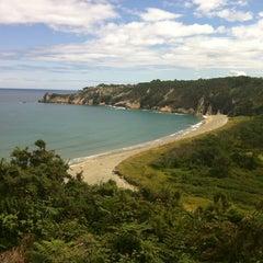 Photo taken at Playa de Barayo by Ramon S. on 8/13/2012