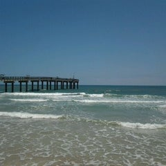 Photo taken at Beach Front On The Atlantic by Dawn S. on 5/10/2012